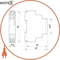 Enext i0310015 реле импульсное e.control.i01, 10a, 230v