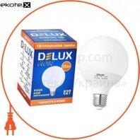 Светодиод.лампа_DELUX_Globe G95 15w E27_4100K