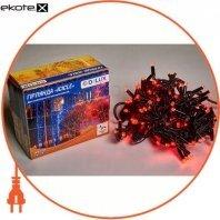 Гирлянда внешняя DELUX ICICLE 108 LED бахрома 2x1m 27 flash красный/черный IP44 ENГірлянда зовнішня DELUX є icicle 108 LED бахрома 2x1m 27 flash червоний/чорний IP44 EN
