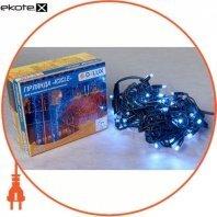 Гирлянда внешняя DELUX ICICLE 75 LED бахрома 2x0,7m 18 flash белый/черный IP44 ENГірлянда зовнішня DELUX є icicle 75 LED бахрома 2x0,7m 18 flash білий/чорний IP44 EN