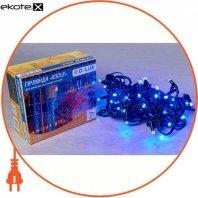 Гирлянда внешняя DELUX ICICLE 75 LED бахрома 2x0,7m 18 flash синий/черный IP44 ENГірлянда зовнішня DELUX є icicle 75 LED бахрома 2x0,7m 18 flash синій/чорний IP44 EN
