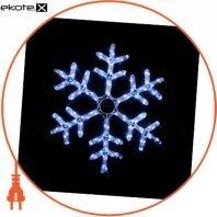 Гирлянда внешняя DELUX MOTIF Snowflake 0,55 м 12 flash белый IP 44 ENГірлянда зовнішня DELUX MOTIF Криву 0,55 м 12 flash білий IP 44 EN