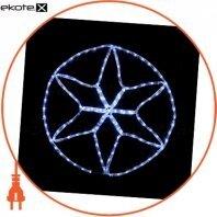 Гирлянда внешняя DELUX MOTIF Star 0,6*0,6 м 13 flash белый IP 44 ENГірлянда зовнішня DELUX MOTIF Star 0,6*0,6 м 13 flash білий IP 44 EN