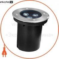 Світильник зовнішній DELUX GROUND 016 LED 3 * 1W 5000К 220V IP67