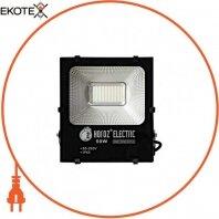 Прожектор SMD LED 50W 6400K 4500Lm 85-265V 270x210мм. IP65 черный