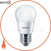 Лампа светодиодная Philips ESS LEDLuster 6.5-75W E27 840 P45NDFR RCA