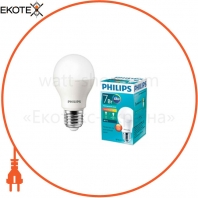 Лампа светодиодная Philips ESS LEDBulb 7W E27 3000K 230V 1CT / 12 RCA