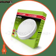 eurolamp led світильник круглий накладний жкх 12w 5500k