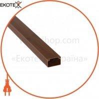 Кабельный канал Sokol 15х10 (200) Professional темно-коричневый