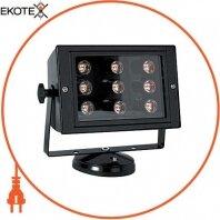 Прожектор светодиодный e.light.LED.150.9.9.6500.black 9Вт черный