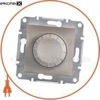 Asfora Светорегулятор поворотный/600RL/двунаправленный (MTN5133-0000), без рамки, бронзовый