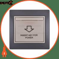 Энергосавер (карточного типа с логотипом) 701-2930-119 Цвет Темно-серый/Жемчужно-белый металлик Задержка