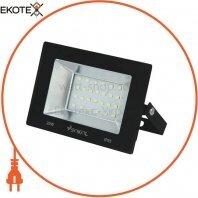 Прожектор LED-SLТ 20w 220В 1500lm 6500K Sokol алюминиевый корпус, закаленное стекло