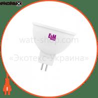 Лампа светодиодная MR-16 PA10L 5W GU5,3 4000K алюмопл. корп. 18-0067
