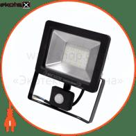 Прожектор з датчиком руху IP65 SMD LED 30W 6400K 1500lm 220-240v
