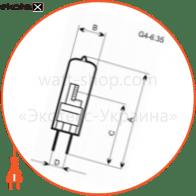 A-HC-0116 Electrum галогенные лампы electrum капс. 35w g4