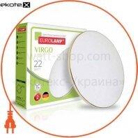 Светодиодный EUROLAMP LED Светильник круглый накладной Virgo 22W 4000K