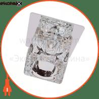 Встраиваемый светильник Feron BS 125-FB хром 18024
