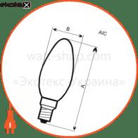 18-0076 ELM светодиодные лампы electrum с37 4w pa10 e14 3000 elm