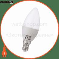 Лампа свічка SMD LED 4W 3000K/4200K/6400K E14/E27 250Lm 175-250V