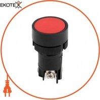Кнопка пластиковая с фиксацией e.mb.eh145 красный 1NO+1nc