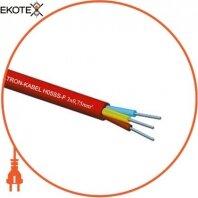 Провод термостойкий двужильный H05SS-F 2x2,5