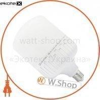 Лампа світлодіодна високопотужна ЕВРОСВЕТ 40Вт 6400К EVRO-PL-40-6400-27 Е27