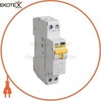 Автоматический выключатель дифференциального тока АВДТ32М С25 100мА IEK