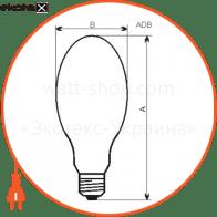 dв-160е/4100k e27 газоразрядные лампы electrum Electrum A-DB-1040