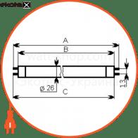 лампа люминесцентная 30/54 g13  - a-ft-0220 люминесцентные лампы electrum Electrum A-FT-0220