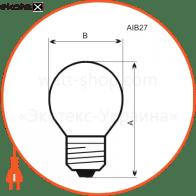 лампа шар 60w e27 мат.  - a-ib-0035 лампы накаливания electrum Electrum