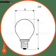 лампа шар 60w e14  - a-ib-0038 лампы накаливания electrum Electrum A-IB-0038