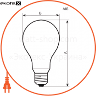 лампа d55 100w e27  - a-id-0872 лампы накаливания electrum Electrum A-ID-0872