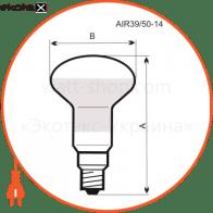 r50 40w e14 мат. лампы накаливания electrum Electrum A-IR-0041