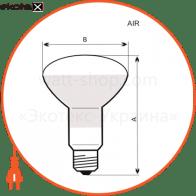 A-IR-0042 Electrum лампы накаливания electrum r63 40w e27 мат.