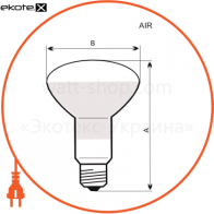r63 60w e27 мат. лампы накаливания electrum Electrum A-IR-0043