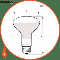 лампа рефлекторная r80 100w e27 мат.  - a-ir-0046 лампы накаливания electrum Electrum A-IR-0046