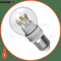 LED лампа D45 5W LB-20 E27 4000K проз.aл./к. Rf Electrum