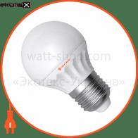 LED лампа D45 4W LB- 8 Е27 4000К мат.керам./к. Electrum