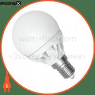 LED лампа D45 4W LB-9 Е14 4000К мат.керам./к. Electrum