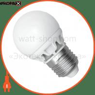 LED лампа D45 4W LB-9 Е27 4000К мат.керам./к. Electrum