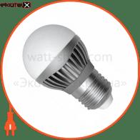 LED лампа D45 5W LB-11 Е27 4000К мат.ал./к. Electrum