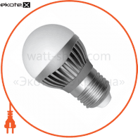 LED лампа D45 5W LB-14 Е27 2700К мат.ал./к. А Electrum