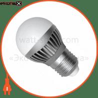 LED лампа D45 5W LB-14 Е27 4000К мат.ал./к. А Electrum