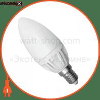 LED лампа С37 4W LС-9 Е14 4000К мат.керам./к. Electrum