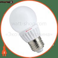 LED лампа D50 5W LG-С Е27 2700К мат.керам./к. A Electrum