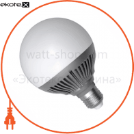 Лампа світлодіодна глоб LG-30 12W E27 2700K алюм. корп.  A-LG-1061