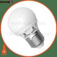 LED лампа D55 5W LG-11 Е27 2700К мат.керам. Electrum