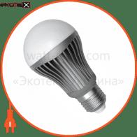 LED лампа A60 10W LS-24 E27 2700K мат.ал./к. Electrum
