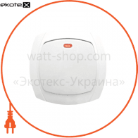 Выключатель 1-кл. с подсветкой BBсб10-1-1-Ov-W арт. BBсб10-1-1-Ov-W